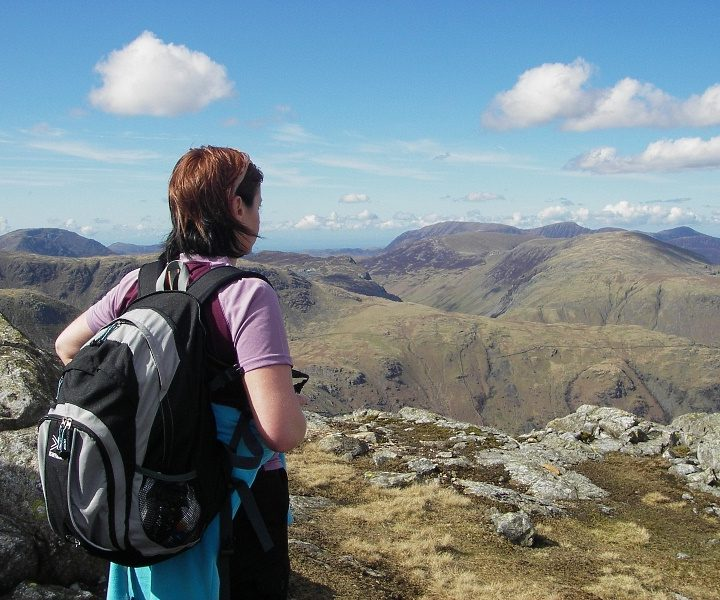 Lake District Borrowdale walking