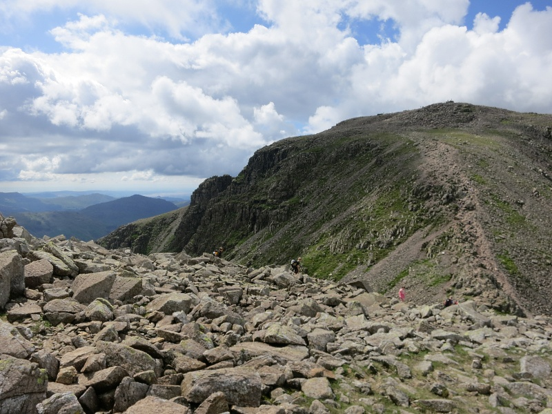 Lake District Scafell Pike walk