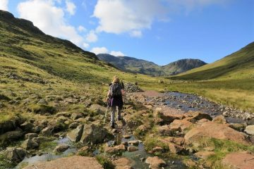 Scafell Pike mountain walks