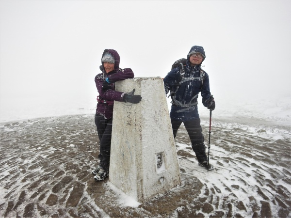 Pendle Hill Summit, Lancashire
