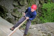 Abseil in the Lake District