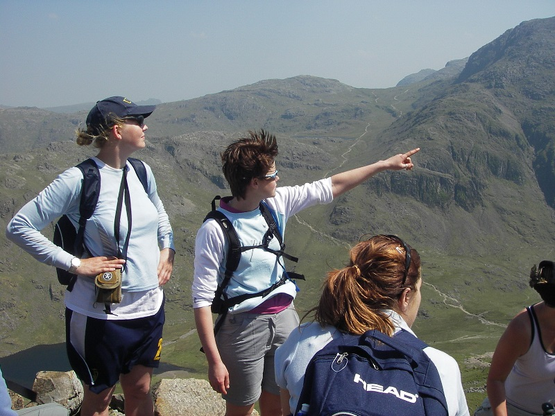 Lake District Great Gable walk