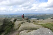 Peak District Kinder Scout walk