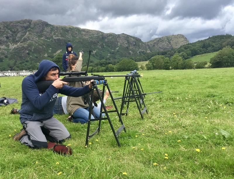Rifle shooting Lake District