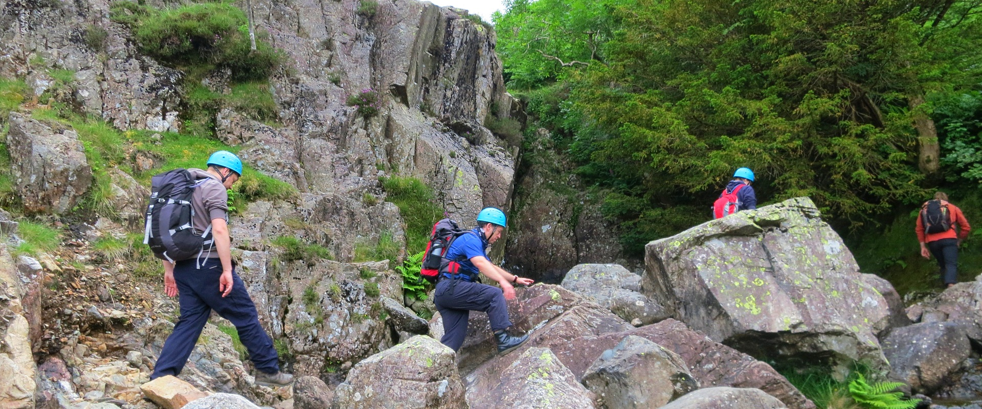 Scrambling & Scafell Pike Weekend