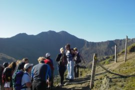 Wales Snowdon walk