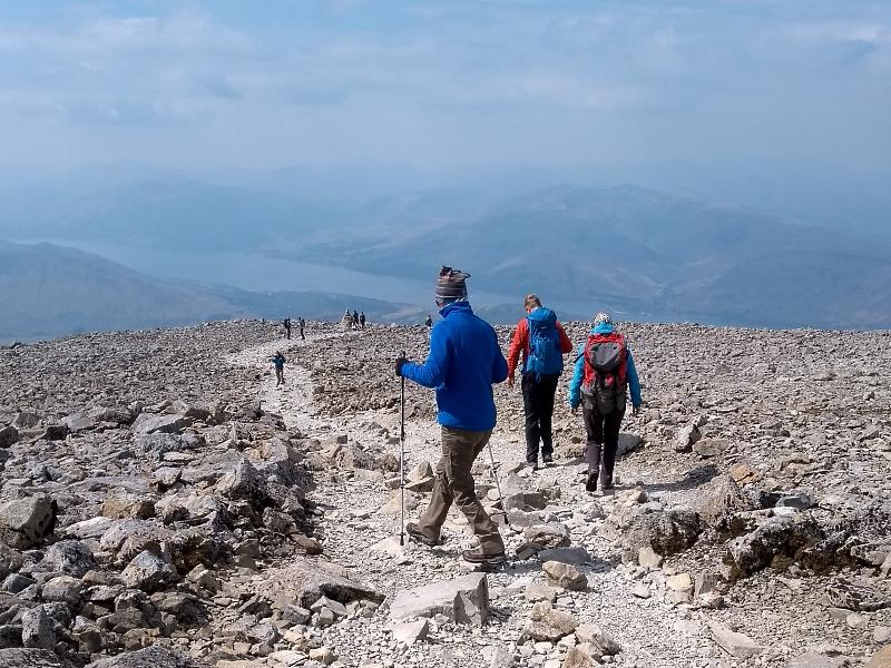 Scotland Ben Nevis walk